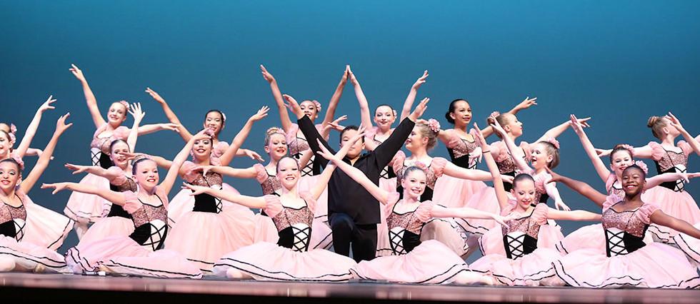 beginner to advanced dance classes