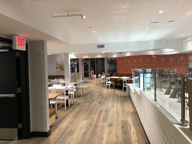 cafe dining design and build