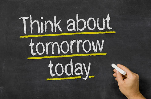 shutterstock.com - think about tomorrow
