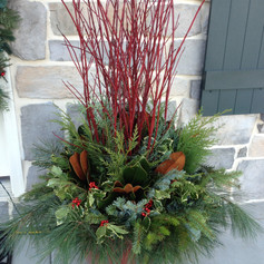 outdoor decor for winter