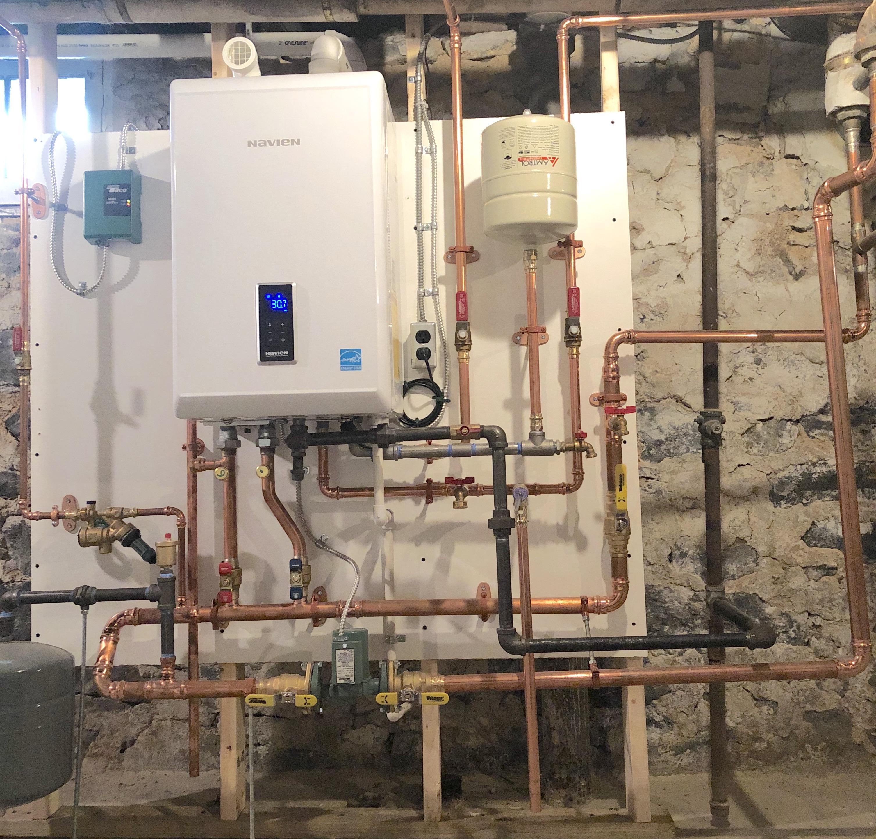 High Efficiency Combi-Boiler