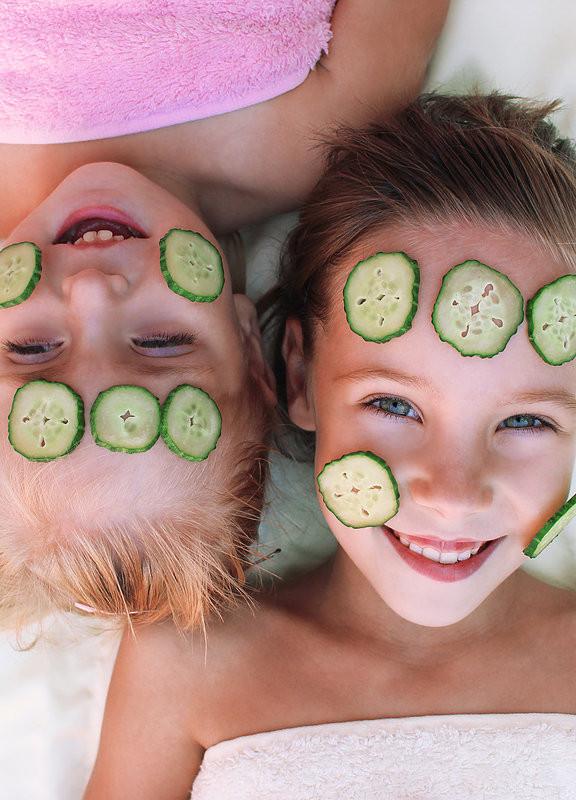 Girls with Cucumber Facial.jpg