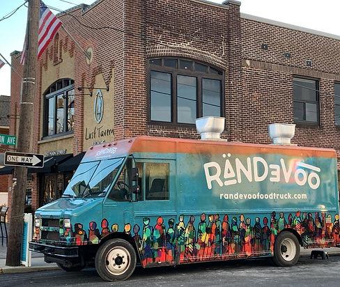 Randevoo Food Truck at Lost Tavern