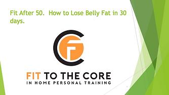lose belly fat in 30 days ebook