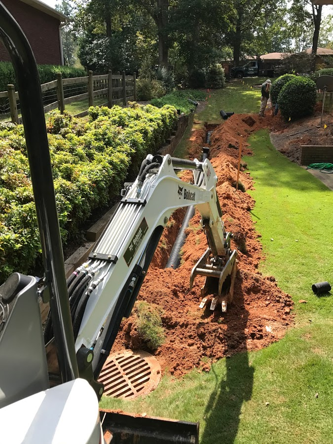 drainage installation atlanta