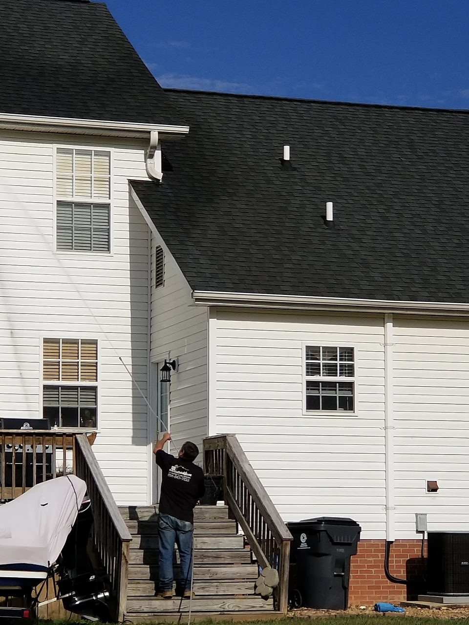 greenville sc gutter cleaning