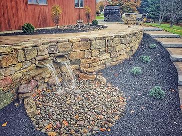 Stunning paved garden in Allentown PA