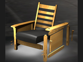 Designing and Creating American Craftsman Style Furniture in Autodesk Inventor