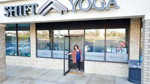 Shift Yoga studio in Fulton, MD