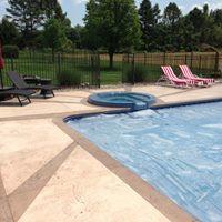 pool area resurfacing