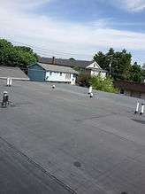 flat slope roofing maintnance