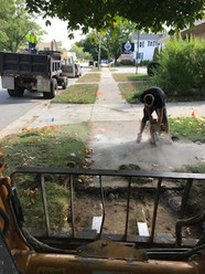 sidewalk pouring in muskegon, mi