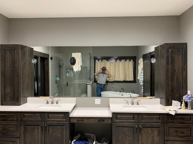 franklin glass and mirror - professional mirror installation
