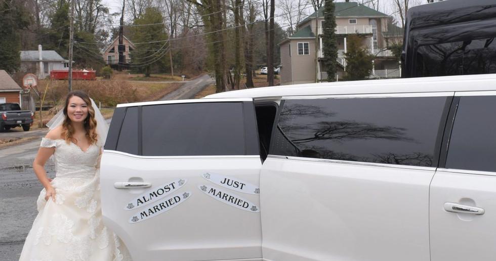 wedding limo rentals