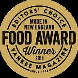 Editor's Choice - Yankee Magazine - Food Award Winner