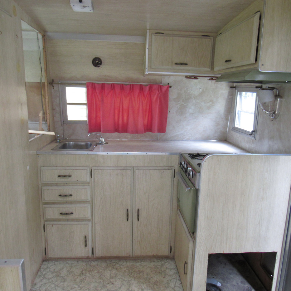 Camper Restoration Before - 2