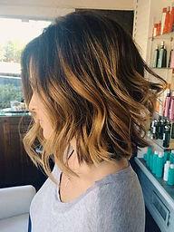 hair salon highlights