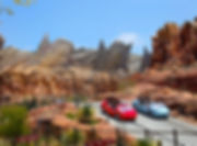 Disneyland California Adventure Cars Land