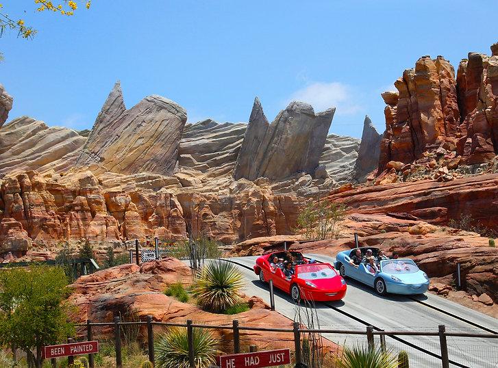 Disneyland California Adventure Cars Land