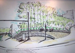 commercial landscape rendering