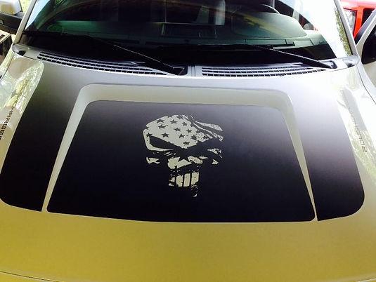 Vinyl Graphics on Car