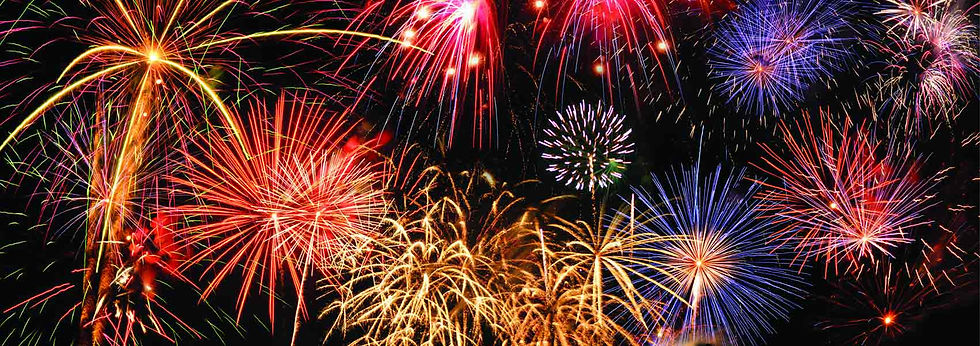 fireworks shows in PA