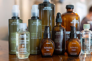 Aveda facial products