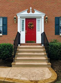 front steps resurfacing
