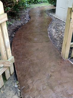 concrete walkway contractor