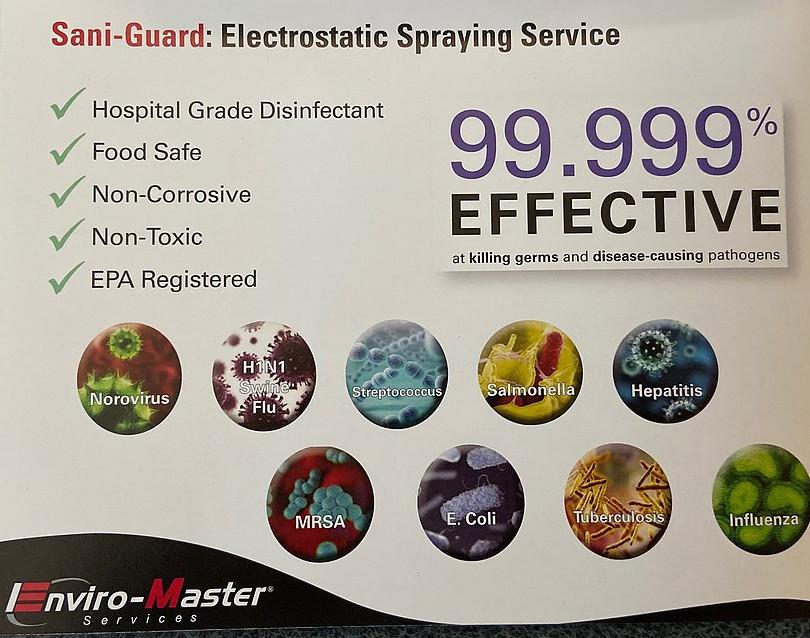 sani-guard for killing germs