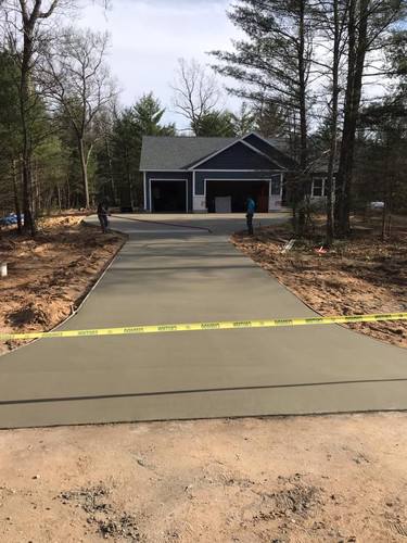 concrete patio installation MI