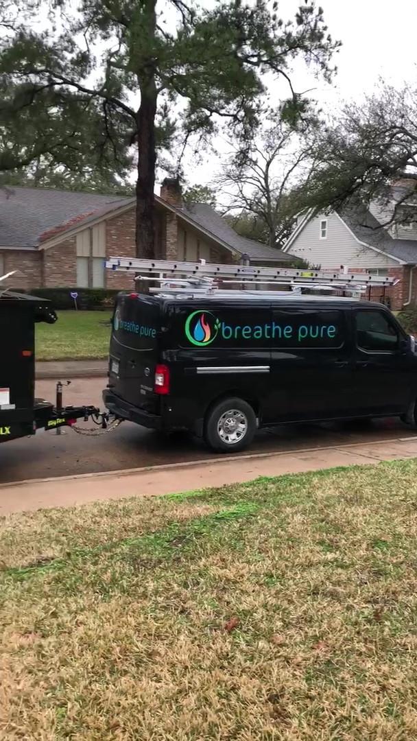 breathe pure spring tx van