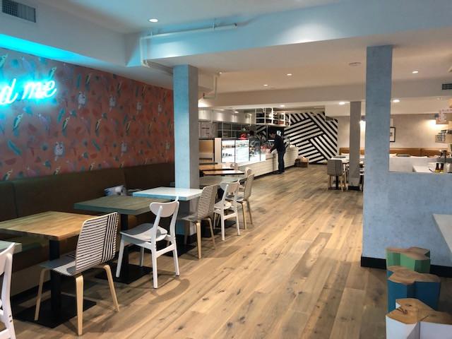 Parakeet Cafe design and build