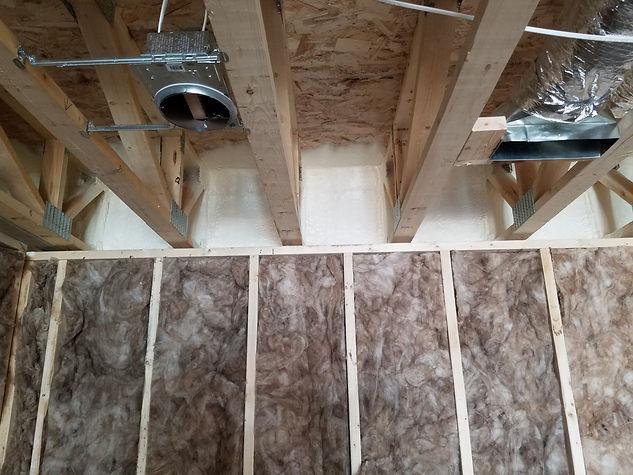 Foam Insulation in Attic