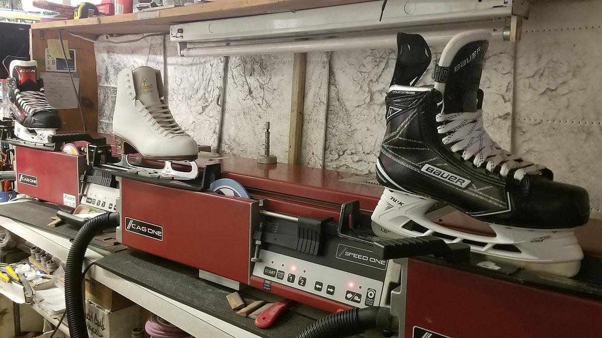 hockey skate sharpening white plains ny