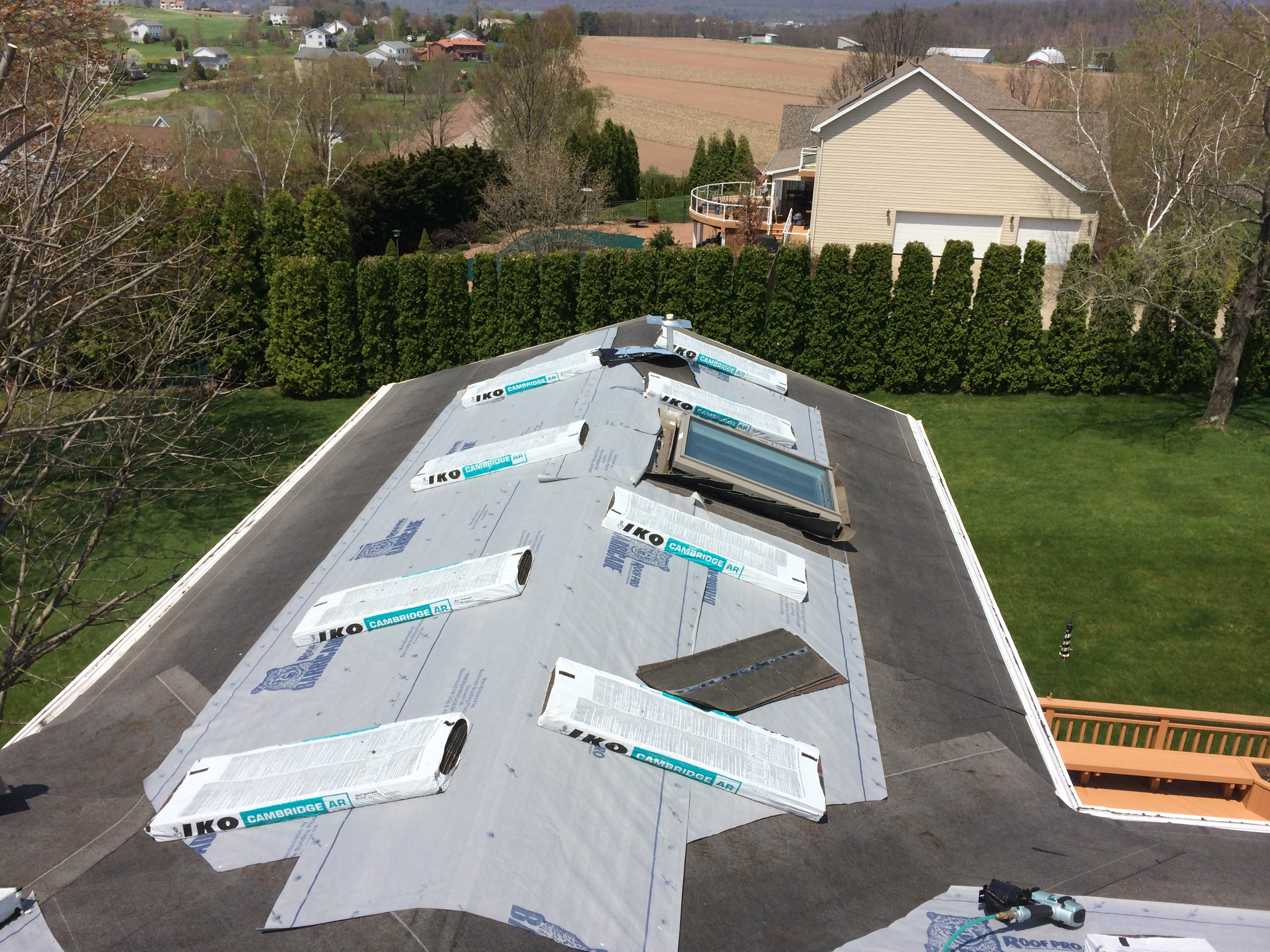 low slope roofing service