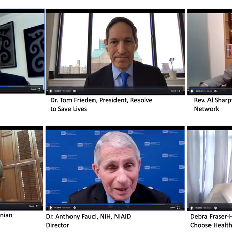 Leading Black Clergy Meet with Dr. Fauci and Nation's Top Doctors in Historic Summit...