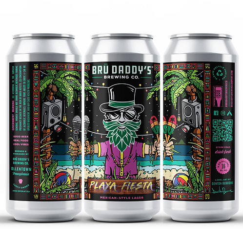 Playa Fiesta – Mexican-Style Lager