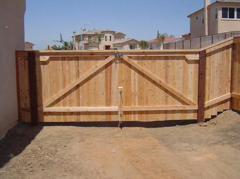 fencing materials san die