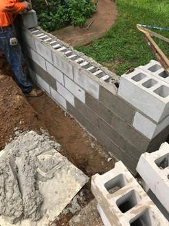 cement cinderblocks