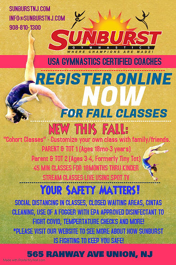 Fall Class Flyer - Made with PosterMyWal