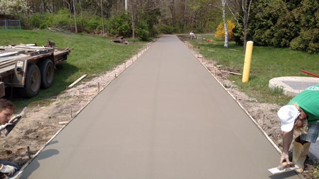driveway renovation michigan