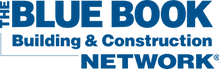 The Blue book Building & Construction Network logo