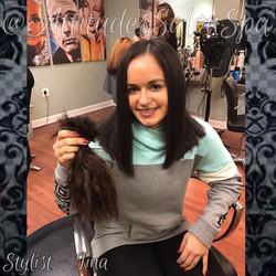 women's hair cut services