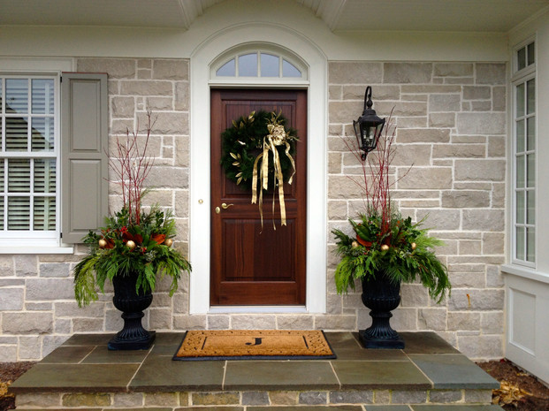 residential potted plants for winter