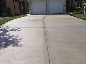 concrete driveway paving service