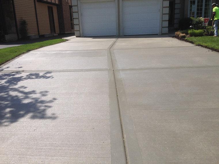 driveway concrete paving lehigh valley