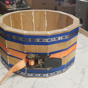 Drum made from our white oak lumber