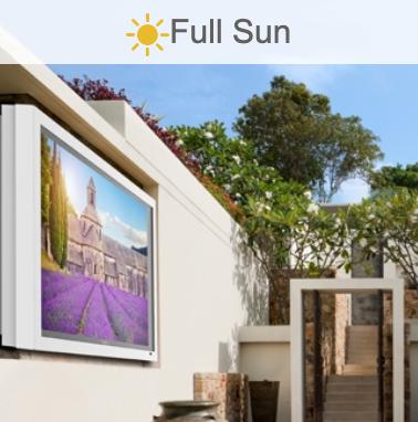 full sun tv installation