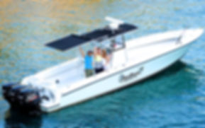 shade for boat with hard top